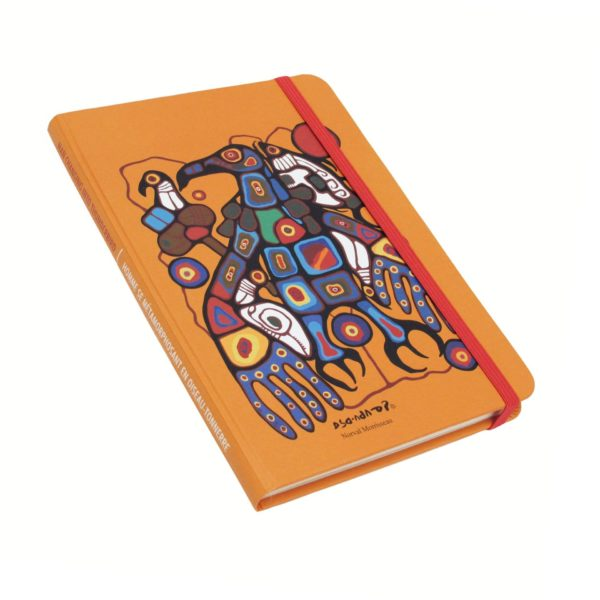Man Changing into Thunderbird Hardcover Journal Front Cover