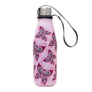 Pink Celebration of Life Water Bottle and Sleeve